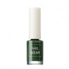 Лак для ногтей The Saem Nail Wear 89.Deep green 7мл