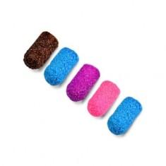 Patrisa Nail, Колпачки песочные 5 мм, 80 грит, цветные