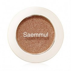 Тени для век мерцающие THE SAEM Saemmul Single Shadow Shimmer BR05 2гр