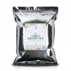 Маска альгинатная с зеленым чаем успокаивающая Anskin Grean Tea Modeling 1кг