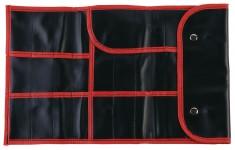 DEWAL PROFESSIONAL Чехол для парикмахерских инструментов, полимерный материал, черный 37х23 см