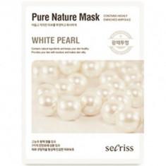Маска для лица тканевая Anskin Secriss Pure Nature Mask Pack- White pearl 25мл