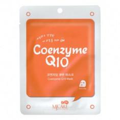 Маска тканевая с коэнзимом Mijin MJ on Coenzyme Q10 mask pack 22г