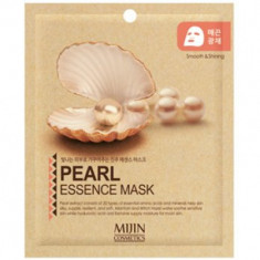 Маска для лица тканевая жемчуг Mijin PEARL ESSENCE MASK 25г
