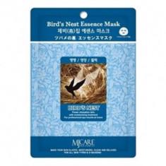 Маска тканевая ласточкино гнездо Mijin Bird`s Nest Essence Mask 23гр