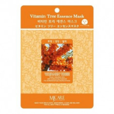 Маска тканевая облепиха Mijin Vitamin Tree Essence Mask 23г