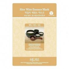 Маска тканевая Макколе рисовое вино Mijin Makgeolli Essence Mask 23г