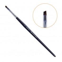 Planet nails, кисть для китайской росписи скошенная, мягкая, №3, 98567.3