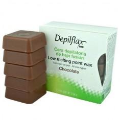 Depilflax воск горячий в дисках шоколад 0,5кг