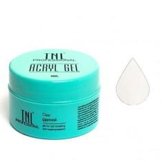 Tnl, acryl gel, акрил гель, белый, 18 мл