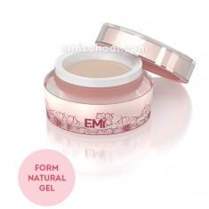 E.mi, form gel natural, натуральный гель для моделирования на формах, 50 г