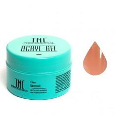 Tnl, acryl gel, камуфлирующий акрил гель, бежевый, 18 мл
