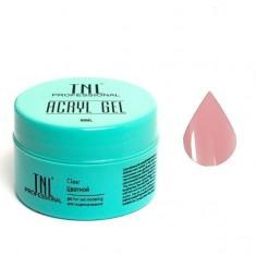 Tnl, acryl gel, камуфлирующий акрил гель, розовый парфе, 18 мл