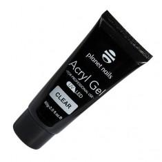Planet nails, acryl gel, гель прозрачный, 60 г