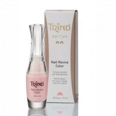 Trind, nail repair pink perl, укрепитель ногтей, розовый перламутр, 9 мл