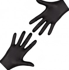 перчатки nitrimax нитриловые неопудренные черные xl 100шт ARCHDALE