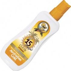 Australian gold spf 15 spray gel солнцезащитный спрей 237мл
