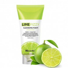 пенка для умывания secret skin lime fizzy cleansing foam