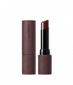 Помада для губ матовая THE SAEM Kissholic Lipstick Extreme Matte BR01 Two Out 3,8гр
