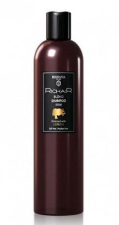 Шампунь для осветлённых и обесцвеченных волос c Кератином Egomania RicHair Blond 400мл