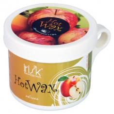 IRISK PROFESSIONAL Воск горячий в баночке для разогрева в СВЧ, зеленое яблоко 100 г