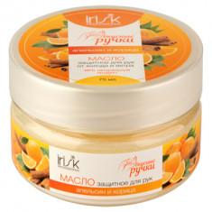 IRISK PROFESSIONAL Масло защитное от холода и ветра для рук, апельсин и корица 75 мл
