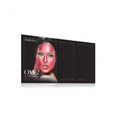 Трехкомпонентный комплекс масок СИЯНИЕ И РОВНЫЙ ТОН Double Dare OMG! Platinum Hot Pink Facial Mask