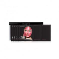 Трехкомпонентный комплекс масок СИЯНИЕ И РОВНЫЙ ТОН Double Dare OMG! Platinum Hot Pink Facial Mask Kit 5 шт