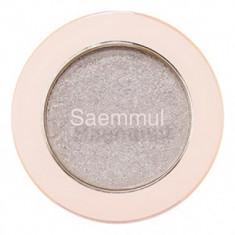 Тени для век с глиттером THE SAEM Saemmul Single Shadow Glitter WH02 1,6гр