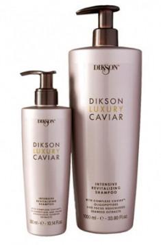 Шампунь интенсивный ревитализирующий с Complexe Caviar Dikson LUXURY CAVIAR shampoo 300мл