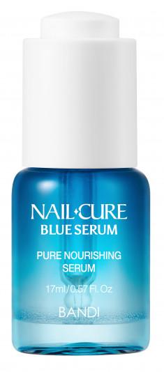 BANDI Сыворотка питательная для ногтей Мощь океана / NAIL CURE BLUE SERUM 17 мл