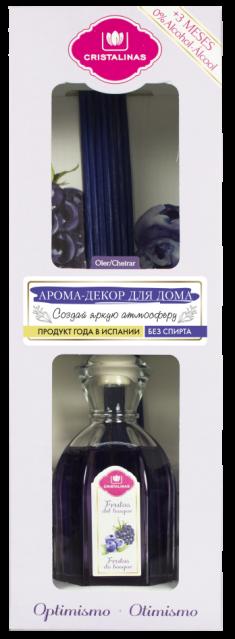 CRISTALINAS Диффузор ароматический Лесные ягоды / Mikado 90 мл