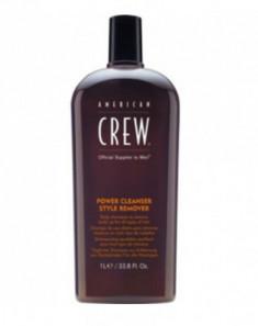 Шампунь для ежедневного ухода, очищающий волосы от укладочных средств American Crew POWER CLEANSER STYLE REMOVER SHAMPOO 1000мл