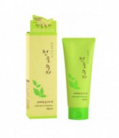 Маска-пленка для лица очищающая Welcos Green Tea Purifying Peel Off Pack 150мл