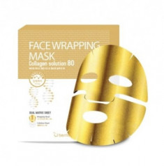 Маска для лица с коллагеном Berrisom Face Wrapping Mask Collagen Solution 80 27г