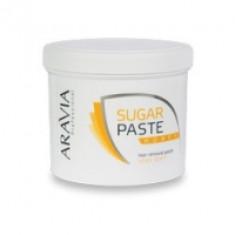 Aravia Professional - Паста сахарная для депиляции Медовая, очень мягкой консистенции, 750 г.
