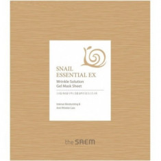 Маска для лица антивозрастная THE SAEM Snail Essential EX Wrinkle Solution Gel Mask Sheet 28г