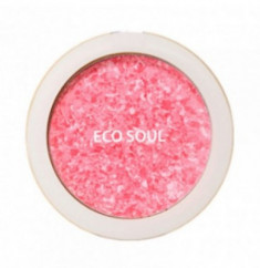 Румяна компактные THE SAEM Eco Soul Carnival blush 01 Rose 9,5г
