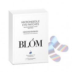 BLOM, Патчи для глаз «Увлажнение и разглаживание», 4 пары BLÓM