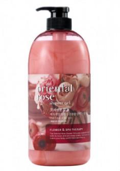 Гель для душа Welcos Body Phren Shower Gel Oriental Rose 730мл