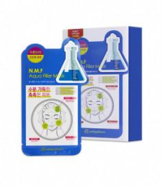 Маска для лица тканевая увлажняющая Mijin Uniquleen N.M.F. Aqua Filler Mask 26г