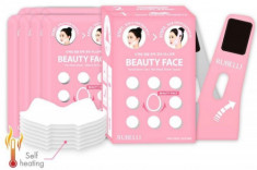 Набор масок + бандаж для подтяжки контура лица Rubelli Beauty Face 20мл*7