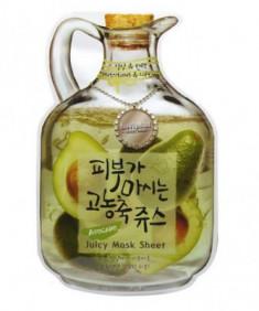 Маска тканевая с авокадо Baviphat Avocado Juicy Mask Sheet Nutritious&Lifting 23г