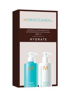 MOROCCANOIL Набор Увлажнение для волос, в боксе (шампунь 500 мл, кондиционер 500 мл) HYDRATION