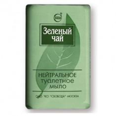 Мыло Зеленый чай нейтральное в обертке 100г Свобода