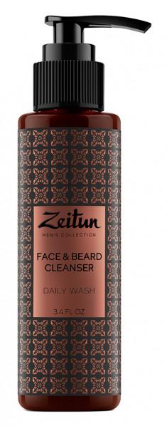 ZEITUN Гель очищающий для умывания, для мужчин 100 мл