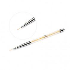 TNL, Кисть для рисования №000, с золотыми кристаллами TNL Professional