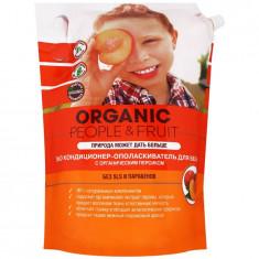 Organic People Эко кондиционер-ополаскиватель для белья Органический персик 2л