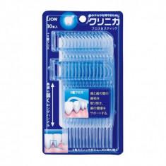 Lion Clinica Floss and Stick Зубочистки с зубной нитью, 30 шт