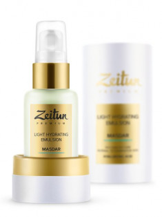 ZEITUN Эмульсия легкая увлажняющая дневная с гиалуроновой кислотой / MASDAR 50 мл